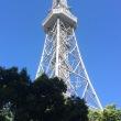 名古屋市にて「テレビ塔と名古屋城」