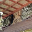 舜青寺の龍彫刻欄間