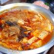 キムチ鍋と晩ごはん