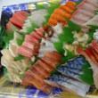 日曜のランチは魚屋さんの「海鮮丼」!イートインコーナーがある魚屋です!!刺身と手作り干物の専門店「発寒かねしげ鮮魚店」。