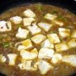 11月14日 お肉たくさんの麻婆豆腐