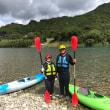古座川のカヌー体験