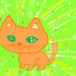 漫画絵本「ブスクレ猫と笑い猫」その顔に意味を付けているのはいつもじぶん