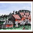 ベラルーシ・ウクライナ・モルドバ旅行シリーズ (24)ウクライナ・キエフ郊外の農家?