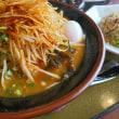 中華麺食房 三宝亭 赤道錦町店さん ネギ辛味噌らーめん&全とろ麻婆麺大盛り