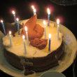 息子君;12歳誕生会、最高のケーキ?