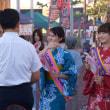 2017大村夏越しまつり 大村フラワー大使・田渕加奈子と早田弥紘 2017・8・2