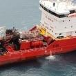 タンカーの爆発と火災で2人が負傷   キプロス