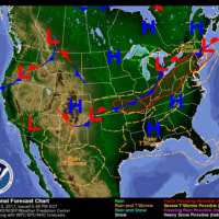 米国コーン産地天気予報