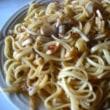 きのこスパゲティーを作りました