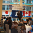 バンクーバー福岡県人会創立35周年記念式典