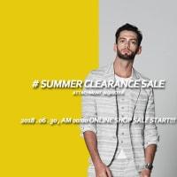 #SUMMER CLEARANCE SALE - ONLINE SHOP