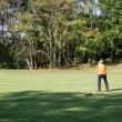 ゴルフが親孝行になるのであれば