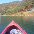 富士五湖へ行って、カヌーをしてからワカサギ釣りをしました。