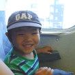 大好きな電車の中で寝るという暴挙