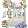 南イタリア・スケッチ・その36 世界遺産・アルベロベッロ