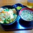 先日、かつ丼を食べました。