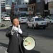 札幌市内地下鉄北24条駅前で公明党の政策と実績を訴えました。