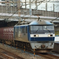 2018年9月14日 武蔵野線 武蔵浦和 EF210-154 77レ 代走