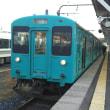 JR西で走る105系の快速列車