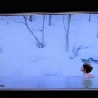 12/14 夏井先生 雪の露天風呂