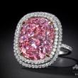 まれに見る大粒のピンクダイヤ、57億円で落札 カラット単価で過去最高 / 桁違いの輝き、高額落札されたダイヤモンド