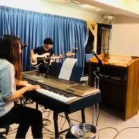 4人で練習( ^ω^ )!