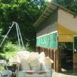 7月中旬新鶏舎完成間近