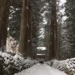 雪の光前寺