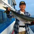 夏休みプランでタテ釣り、午後便タテ釣りです。