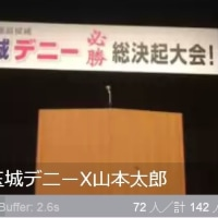 ★玉城デニー 総決起大会 に山本太郎と翁長知事も参加
