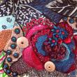 アリワーク  とビーズ刺繍、、バッグ製作