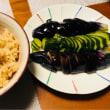 エリンギの炊き込みご飯定食☆