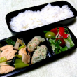 鶏肉と小松菜の炒め弁当