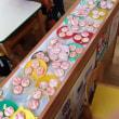 幼稚園でアイシングクッキー