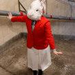 旧博物館動物公園駅の公開と展示 アナウサギを追いかけて 上野