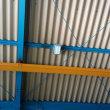 工場にLED照明器具を取付