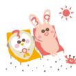 サンちゃんキューちゃんの夏休み♪