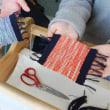 春よこい仲良しカップルの手織り体験