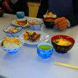 鯖の味噌煮と、白あえと、かき卵汁と、サツマイモご飯だった・・・美味しかったです(@^▽^@)
