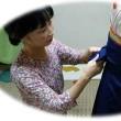 今日は、女袴の着せ付けでした。/鹿児島