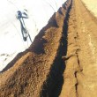 ユーラックトンネルの土寄せに使う機械について