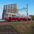 2月10日は西鉄福岡市内線全廃から40年の記念日、生き残り車両の筑豊電鉄2003編成「マルーン&ベージュ」を撮影へ。