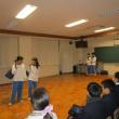 演劇部校内発表会の風景
