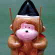 にしざわ貯金箱かん つれづれ雑記(三猿の貯金箱)