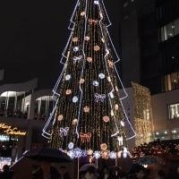 梅田スカイビルのクリスマス