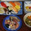 14.09.14 恥飯 _ 買ってきたminiメンチ食った/恥酒肴 _ 買ってきた安い寿司、他