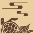 亀(カメ)のウッドスタンプはアルテ・かめ<shopWA・ON>