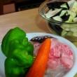 低カロリー 豚しゃぶで茄子をくるっと巻いて。