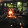 敏太神社で足焼き神事行われる